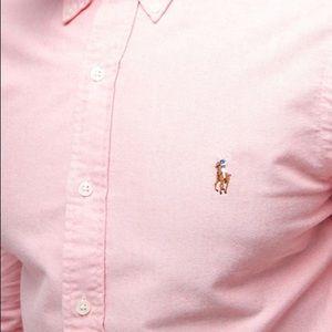 Ralph Lauren pink button down